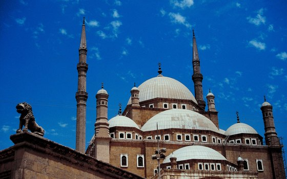 The Mosque of Muhammad Ali Pasha offers history in the heart of Cairo.