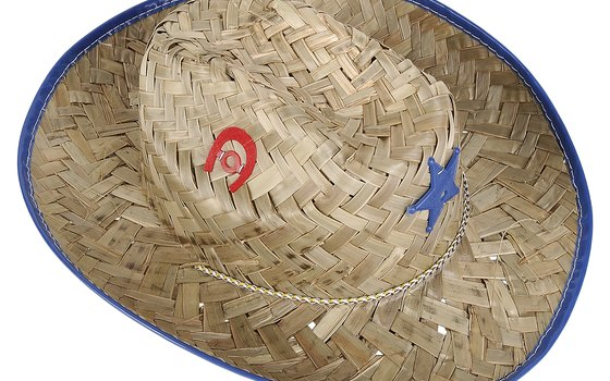 A brimmed straw hat can keep the sun off your face during your hike.