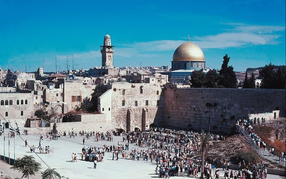 All bus tours to Jerusalem include the Wailing Wall (also known as the Western Wall, or the Kotel).