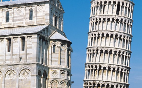 The Leaning Tower of Pisa is in Italy's Tuscany region.