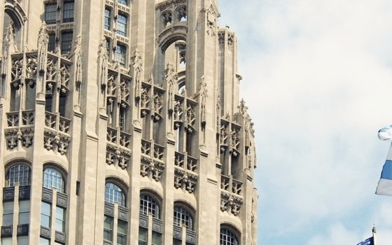 The Tribune Tower.