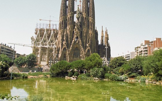 Architect Gaudi's whimsical Sagrada Familia is the centerpiece of sunny Barcelona.