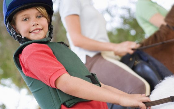 If you're planning a family riding vacation, confirm the minimum age requirement.