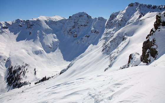 With a peak of 13,487 feet, Silverton is North America's highest ski area.