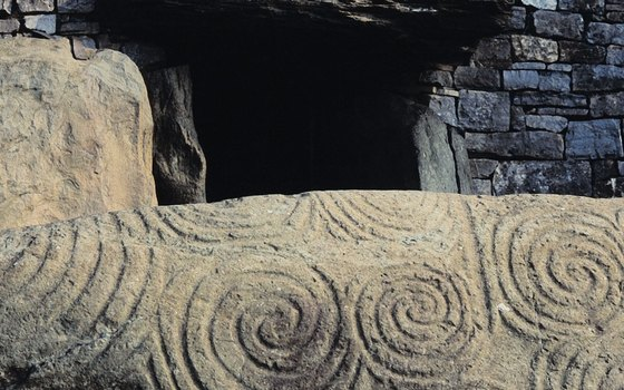Newgrange offers visitors a glimpse of pre-historic life in Ireland.