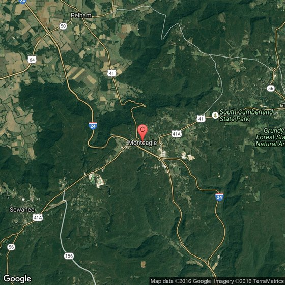 Camping In Tennessee Map.Camping Near Monteagle Tennessee Getaway Usa