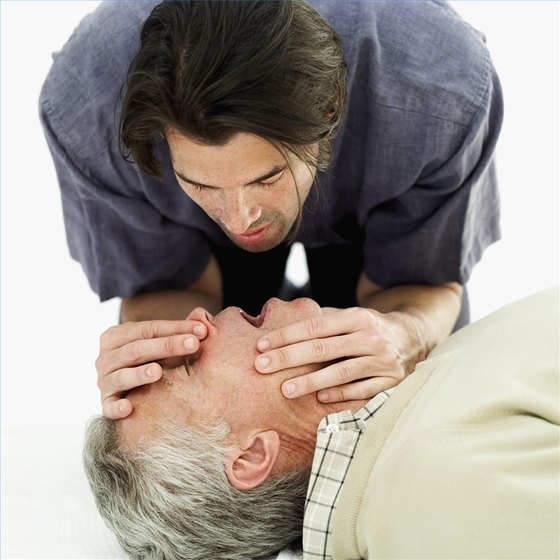 Check a Pulse During CPR