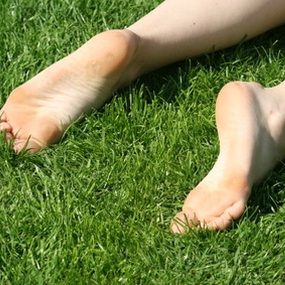 Take care of your feet if they are swollen.