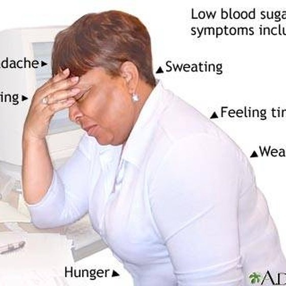 High & Low Blood Sugar Symptoms