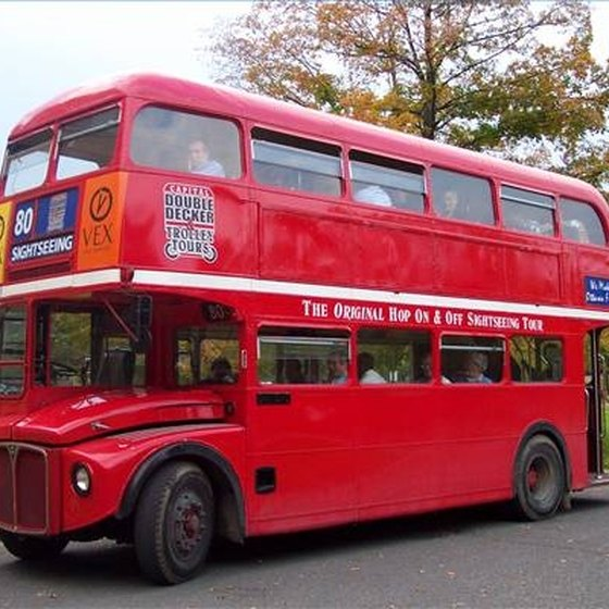 The Double Decker Bus in London