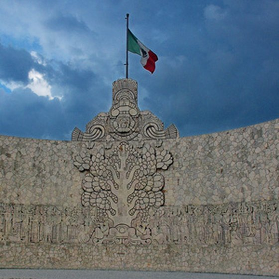 Many cities in the United States have their own Mexican Consulate.