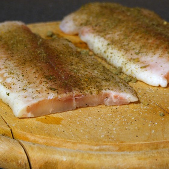 Fish and lean meats are a good source of energy.