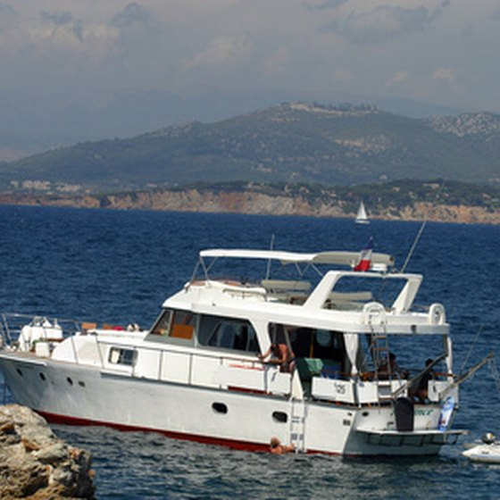 Motorcruisers such as this are capable of making voyages over 4000 nautical miles when properly outfitted.