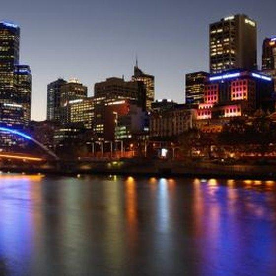 Cityscape of Melbourne, Australia.