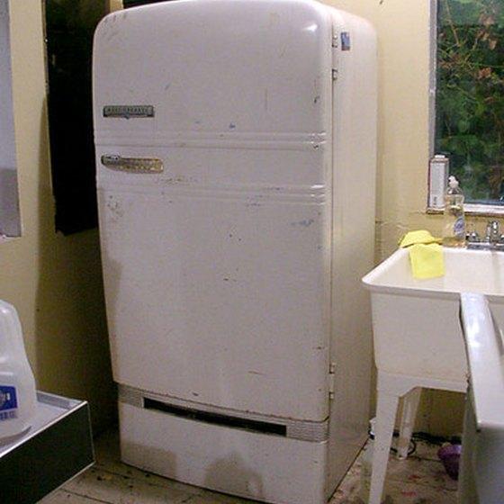 Microwave and refrigerator