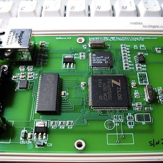 Ethernet controller.