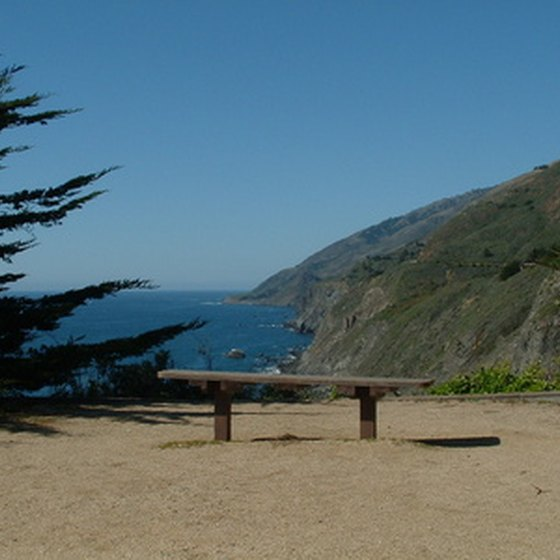 California state parks have sites for RVs throughout the state.