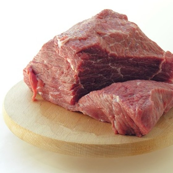 Meat is avoided on the Eat More, Weigh Less plan.