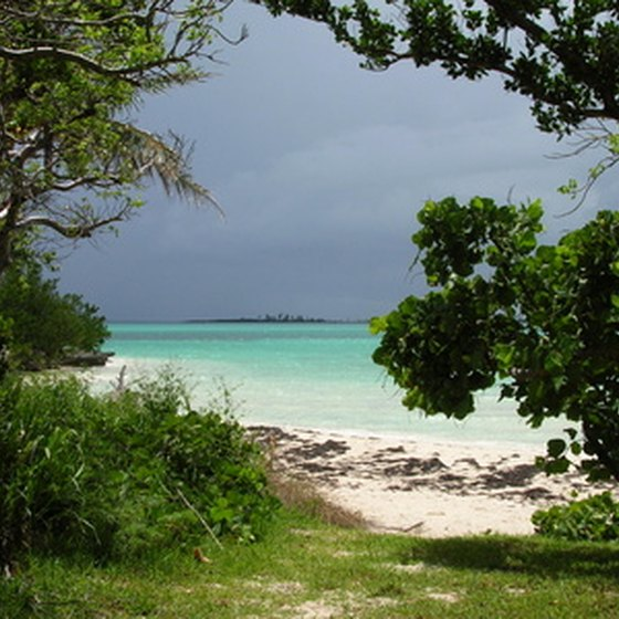 The Bahamas offers powder white sand, turquoise waters and warmth year-round.
