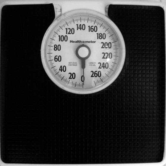 Body Mass Index (BMI) is one way to determine a healthy weight.
