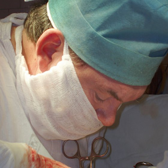 Brain aneurysm surgery involves clipping off the aneurysm.