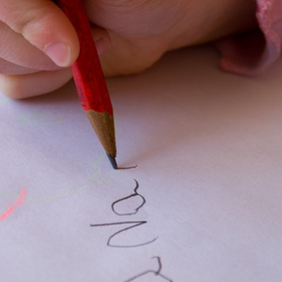 Just having poor handwriting does not mean a person suffers from dysgraphia.