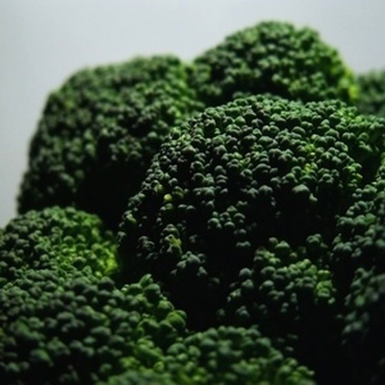 Broccoli is recommended for low-calorie, low-fat diets.