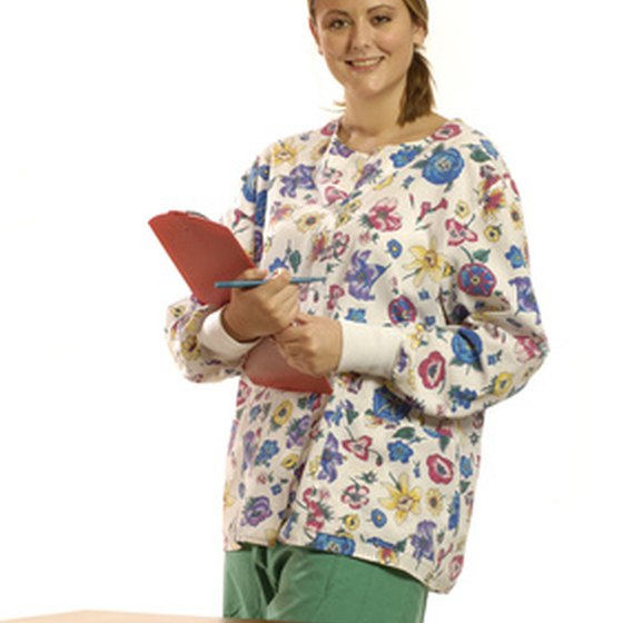 A certified nursing assistant is usually registered with a state board.