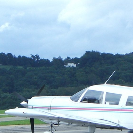 Small private plane