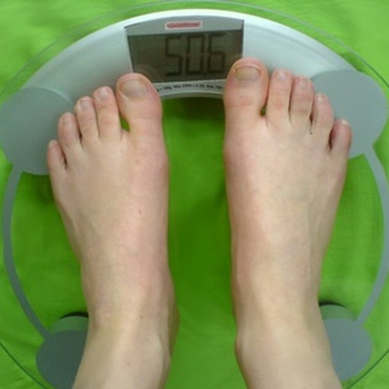 Weighing yourself is an excellent way to record the success of a diet and fitness plan.