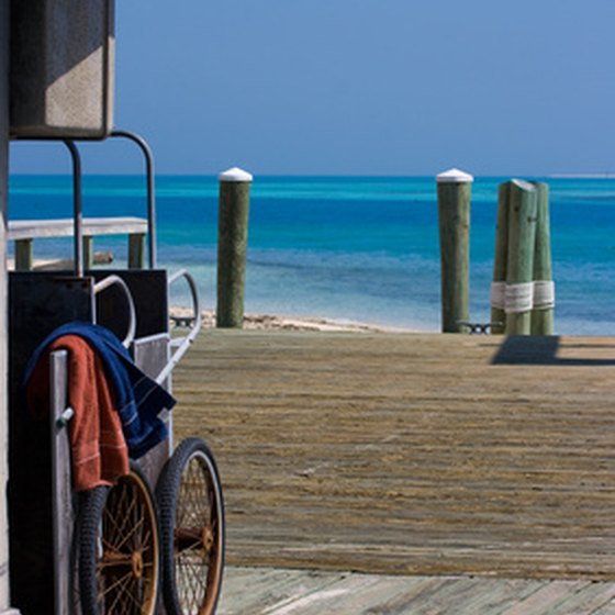 Ferry dock in Dry Tortugas National Park