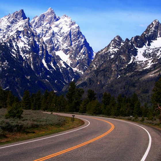 The Teton Range is one of the world's magnificent mountain uplifts.