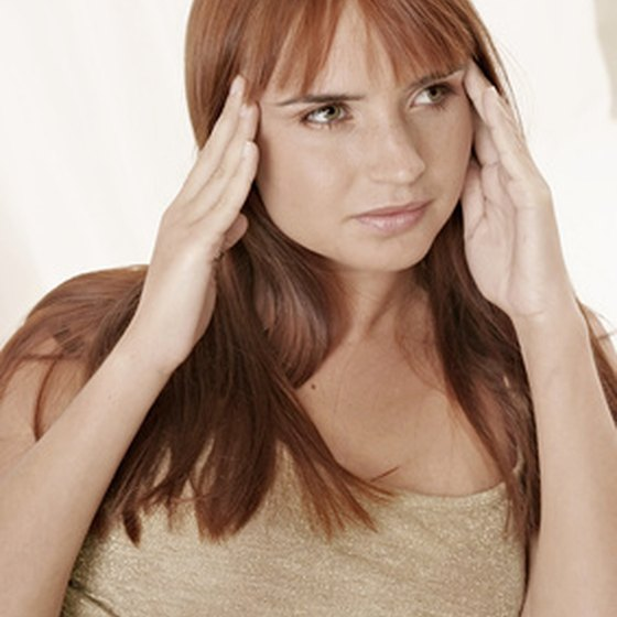Jaw and temple pain are caused by TMJ or TMD.