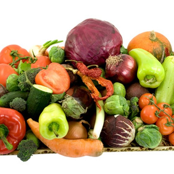 A diet rich in fresh fruits and vegetables can help combat blood vessel diseases.