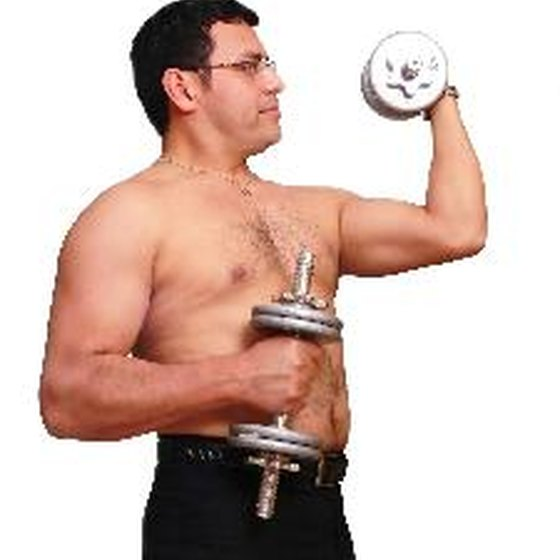 Lifting weights can help you lose fat and gain muscle.