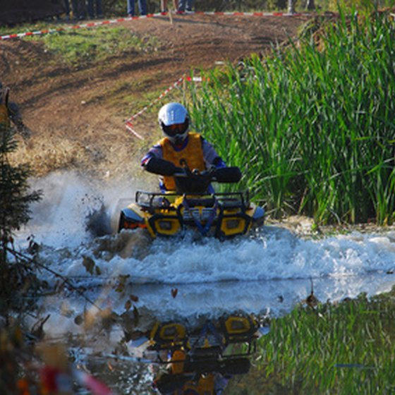 ATV riding is a popular sport in Pennsylvania.