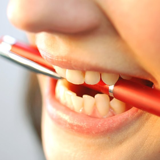 Avoid putting sharp objects inside your mouth that could infect your cold sore.