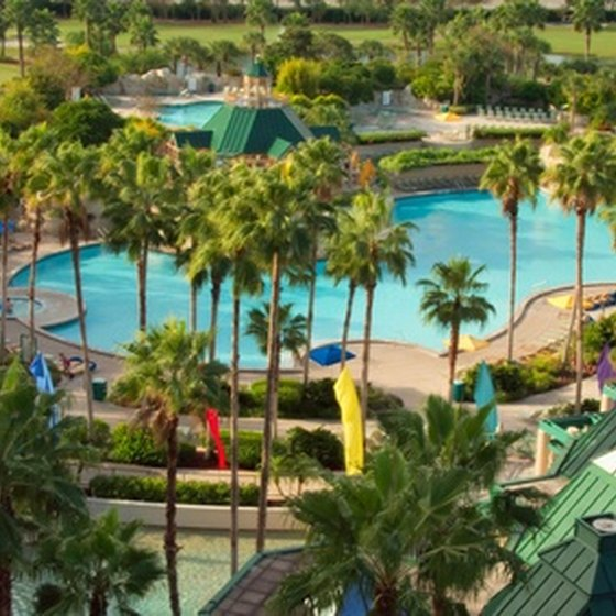 Resorts are a favorite place for timeshares.