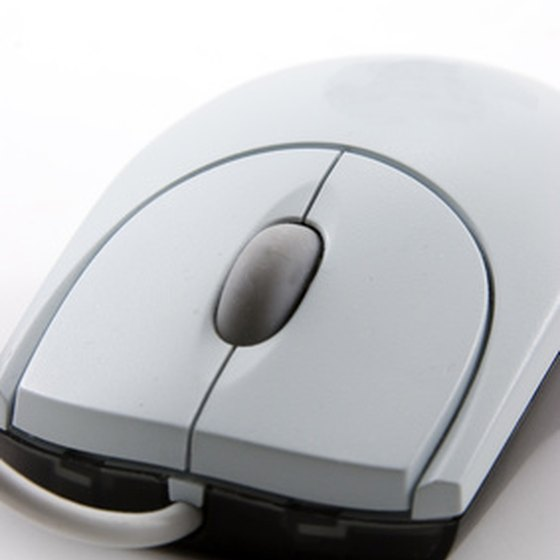 The computer mouse is one of the most common peripherals.