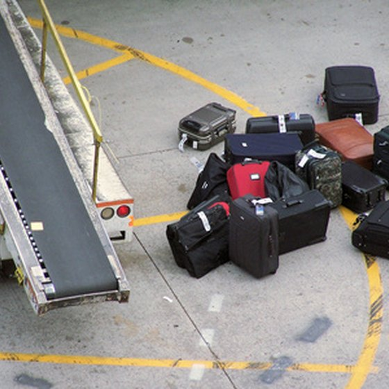 All luggage is screened by TSA for prohibited items before being loaded onto planes.