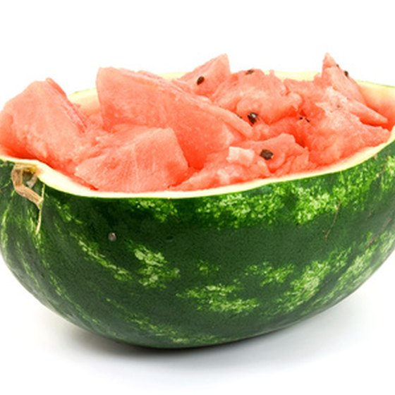 Watermelon: Can help relieve excess water which causes bloating