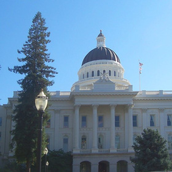 Sacramento is the state capital of California.