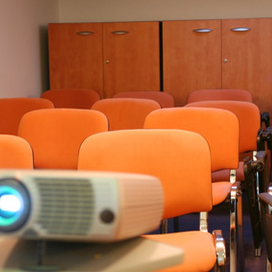 Optimizing your projector keeps things brighter.