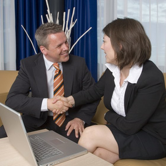 Displaying proper business etiquette helps make other people feel comfortable.