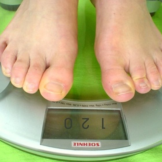 Relative weight is calculated using the BMI and age of the individual.