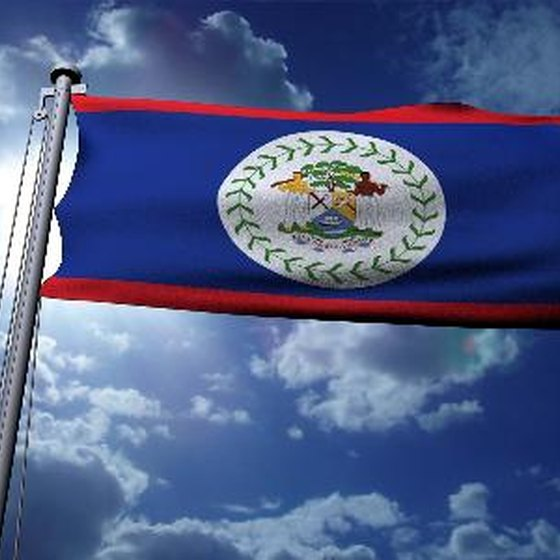 You must apply at a government office for your Belize passport.