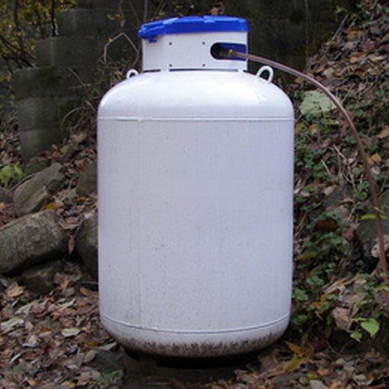 Propane tanks must be constructed with specific components to meet national standards.