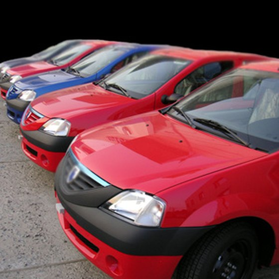 Renting a car for the week might be less expensive that renting by the day.