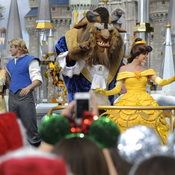 Don't miss the daily parade featuring popular Disney characters.