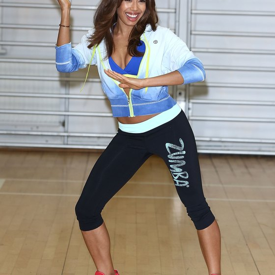 Zumba incorporates dance moves into your workout.